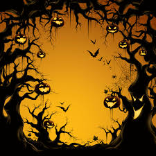 free halloween tiled background epic image of accessories for halloween decoration using predator