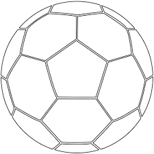Coloring Pages Of Soccer Balls soccer coloring page free printable coloring pages