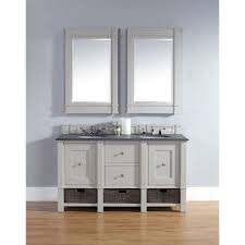 bathroom bathroom vanity with matching linen cabinet apron sink