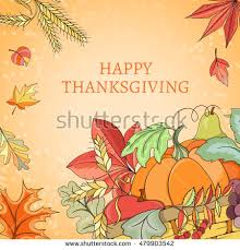 thanksgiving card can be used can stock vector 479903524