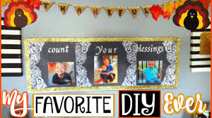 thanksgiving wall diy count your blessings craft