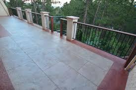 colorado springs concrete decks new creation decks