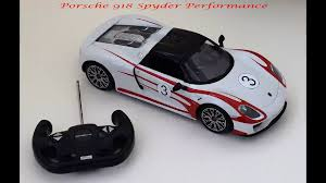 rastar porsche 918 spyder performance coche teledirigido