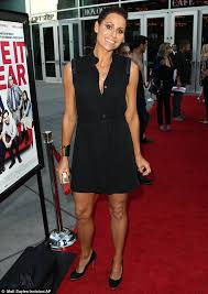 Buy Glam Red Minnie Costume by Minnie Driver Embraces Casual Cool In Maxi Dress And Trainers As