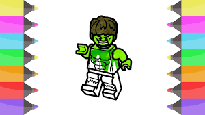 lego hulk coloring pages kids fun art coloring books raimbow