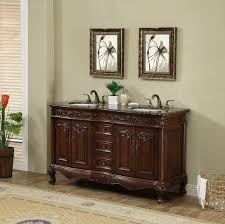 stufurhome 60 inch saturn double sink vanity with baltic brown