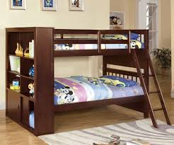 Bedroom Furniture Espresso Finish Hayden Bunk Bed Cm Bk147 Furniture Of America Kids And Teens