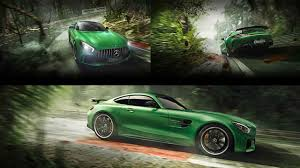 green mercedes mercedes benz launches the amg gt r aka u0027beast of the green hell