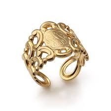 Monogram Ring Gold 18 Best Signet Rings Images On Pinterest Signet Ring Monograms