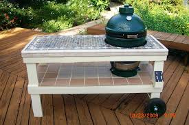 diy grill table plans ceramic grill table plans table designs