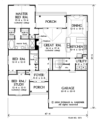 donald gardner floor plans home plan the sterling by donald a gardner architects