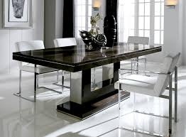 Best Extending Dining Table And Chairs Black  To Stylish - Stylish kitchen tables