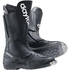 adventure motorcycle boots daytona boots trans open gtx