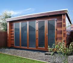 home office backyard garden modern storage shed office interior
