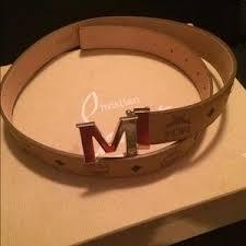 mcm designer s mcm accessories belts on poshmark