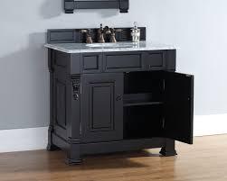 Black Bathroom Cabinet Brookfield 36 Inch Cottage Antique Black Bathroom Vanity Carrera