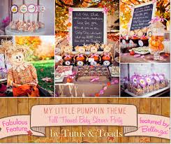 pumpkin baby shower my pumpkin feature a fall themed baby shower