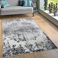 tappeto soggiorno tappeto di design tappeti soggiorno ornamenti effetto vintage nero