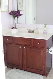 Bathroom And Kitchen Cabinets A Bathroom Makeover Before And After Love Your Abode