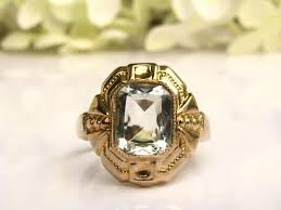 art deco engagement ring ob ostby barton historical ring 1 06ct