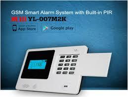 Interior Door Alarms Gsm Sms Signal Detector Security Alarm Sistema Yl 007m2k Door
