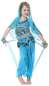 toddler girls halloween costume amazon com seawhisper kid u0027s belly dance halter top harem