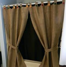tie back shower curtains teawingco shower curtains with valance and tiebacks