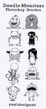 Easy Things To Draw For Halloween Best 25 Doodle Monster Ideas On Pinterest Monster Drawing