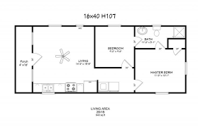 16x40 lofted cabin floor plans homes zone 16 x 40 tiny house layout search tiny house design