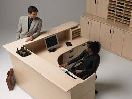 Modern Office Reception Desk Customize A Reception Desk For Your Business U0027 Workspace