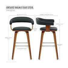 chaises hautes cuisine chaises hautes cuisine chaise de bar faux cuir bois ontario