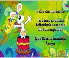 imagenes de cumpleaños para un querido amigo tarjeta de feliz cumpleaños para un amigo querido cumple