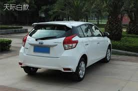 toyota yaris paint higher abs material car rear wing spoilers empennage with