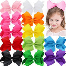 hair bow big 8 inches hair bows for grosgrain boutique