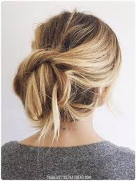 tuck in hairstyles the twist tuck bun easy back to school hairstyles to let you