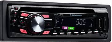 amazon com pioneer deh 3300ub cd receiver with ipod direct