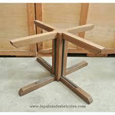 bureau design industriel pied de bureau bois pied de table salle manger bois massif design