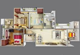 home plans with photos of interior 50 four 4 bedroom apartment house plans architecture design