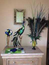 peacock bathroom ideas modern fabric bold peacock feather screen blue duck egg