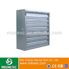 36 inch exhaust fan 36 inch air ventilation automatic shutter axial flow exhaust fan