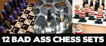 12 bad chess sets awesome cool stuff
