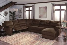 Sectional Recliner Sofas Fabric Sectional Sofas With Chaise Modern Reclining Sectional