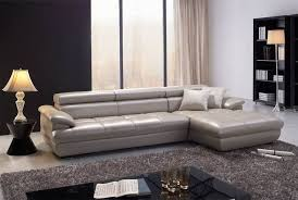 italy latest high end grey reclining leather sofa double divan