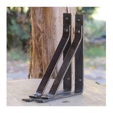 10 x 10 tahawus shelf brackets hand forged rustic blacksmith