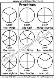 first grade fractions free printable worksheets u2013 worksheetfun