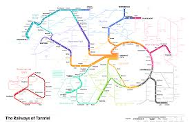 Vre Map Elder Scrolls Transit Map U2014 Michael Tyznik