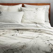 marbleized fullqueen duvet cover cb2 regarding modern property