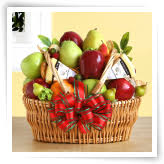 fruit gifts organic fruit cheese gift basket hayneedle