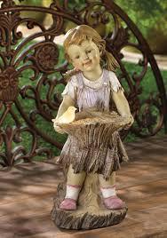 lovely garden statue solar