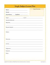 printable lesson plan template daily lesson plan template u2013 12